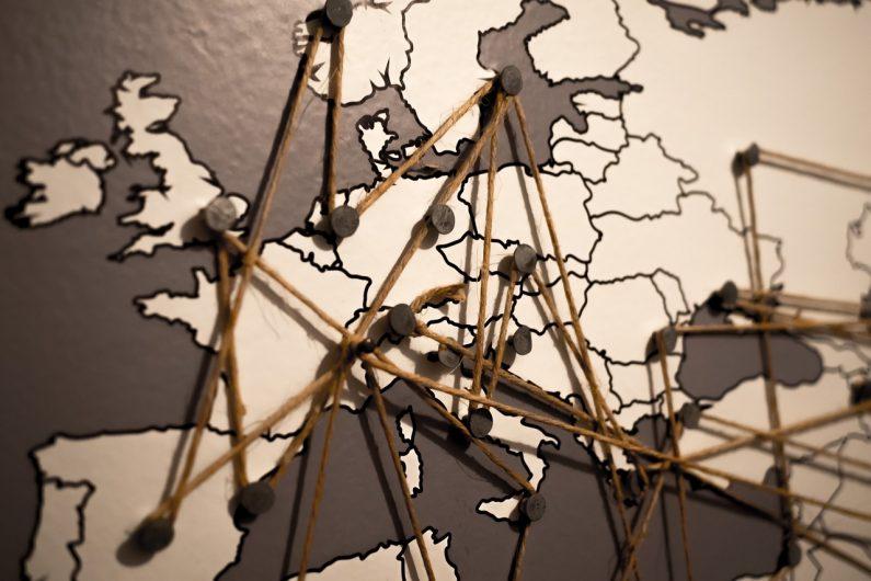 Le déplacement avec des restrictions sanitaires dans toute l'Europe